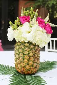 Pineapple Decoration Ideas Best 25 Hawaiian Centerpieces Ideas On Pinterest Tropical