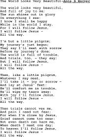 Comfort Me Lyrics Christian Childrens Song The World Looks Very Beautiful Anna B