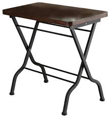 Folding Side Table Folding Side End Tables Houzz