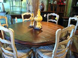 60 round glass dining table round hand carved pedestal dining table french country reclaimed top