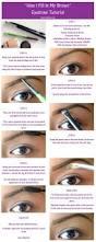 152 best eye brow tutorials images on pinterest make up hair