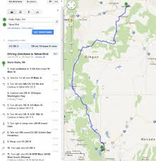 Maps Google Com Seattle by Need Some Route Advice Walla Walla To Seattle Via California