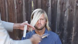 men u0027s haircut men u0027s long hair cut youtube