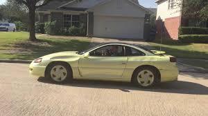 mitsubishi 3000gt yellow pearl yellow 1994 dodge stealth rt twin turbo youtube
