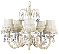 Ivory Chandelier Chic Waterfall Ivory Chandelier 7041 2002 533 00 The