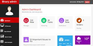 menu templates for bootstrap free bootstrap admin themes david carr web developer blog