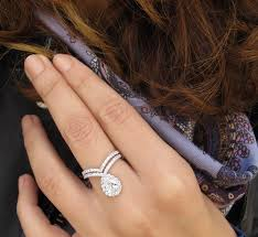 teardrop engagement rings wedding rings teardrop engagement ring bad luck pear shaped