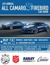 all camaro and firebird 6th annual all camaro firebird car car meets car shows