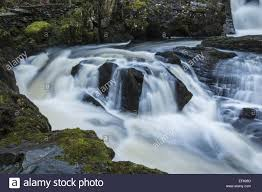 rival falls on the famous ingleton waterfalls walk in the