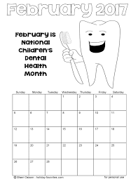 printable february 2017 calendars holiday favorites