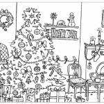 73 christmaswinter coloring pages images