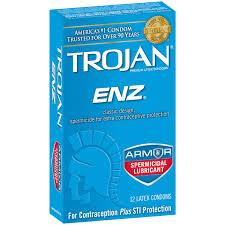 trojan enz latex condoms with spermicidal lubricant 12 0 ct trojan enz latex condoms with spermicidal lubricant 12 0 ct walmart com