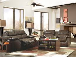 Livingroom Cafe Mollifield Durablend Cafe Reclining Dual Massage Sofa From Ashley