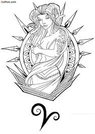 65 awesome aries tattoo images u2013 best aries tattoo stencil