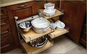 Kitchen Corner Cabinet Ideas Blind Corner Cabinet Lazy Susan With Kitchen Accessories Outofhome