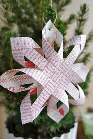 free printable paper to make these cute mod paper ornament