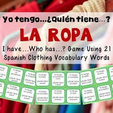 129 best spanish clothing unit images on pinterest teaching