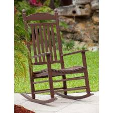 Rocking Chair Patio Furniture Mahogany Rocking Chairs Patio Chairs The Home Depot