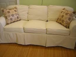 Denim Slipcover Sofa by Slipcover Chic August 2010