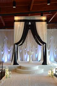 Chuppah Canopy For Sale by Black And White Alter Chuppa Gorgeous Draping U003c3 The Bridal