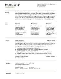 example of cv layout resume template finance advisor resume example printable gfyork com