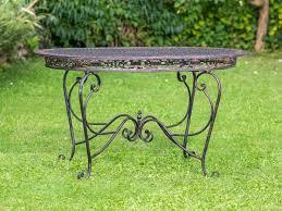 Outdoor Furniture Iron by Best 20 Wrought Iron Garden Furniture Ideas On Pinterest