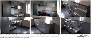 fa軋de de cuisine sur mesure facade tiroir sur mesure table cuisine le bon coin grenoble