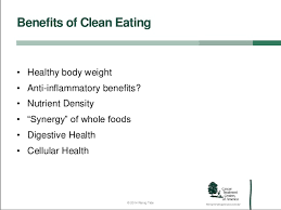 maintaining a healthy diet with a clean eating strategy