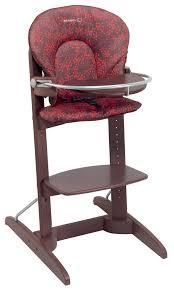chaise haute en bois b b chaise bébé confort design à la maison
