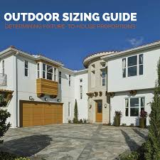 front of house lighting positions size matters how to determine fixture to house proportion for