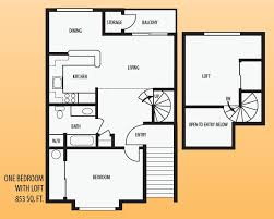 one bedroom house plans with loft nice one bedroom house plans with loft m31 for your small home