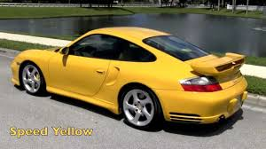 porsche carrera 911 turbo 2003 porsche 911 carrera 996 ruf turbo speed yellow gulfstream