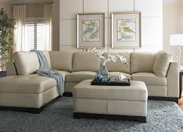 Sofa Ideas For Living Room by Havertys Sectional Sofa This Cream Leather Sofa Looks Light And