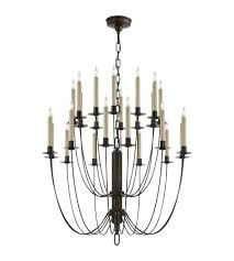 Choros Chandelier Shop For Visual Comfort Iron Chandeliers At Foundry Lighting