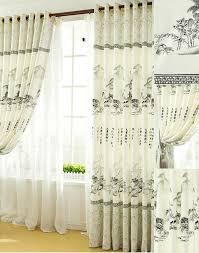 Asian Curtains Customize High Quality Light Grey Asian Curtains Asian Curtains