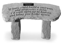 Engraved Benches Personalized Memorial Garden Benches