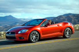 mitsubishi convertible 2003 2009 mitsubishi eclipse spyder information and photos zombiedrive