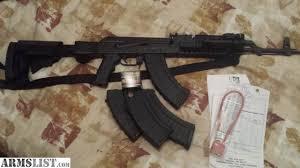 ak 47 laser light combo armslist for sale ak 47 by i o inc black
