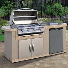 outdoor kitchen islands cal flame outdoor kitchen islands 4 burner built in propane gas