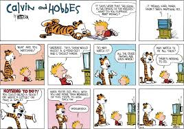 i ve recently started re reading calvin and hobbes although a lot