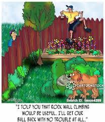 rock walls cartoons and comics funny pictures from cartoonstock