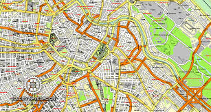 map of vienna vienna vector city map named all streets 25 frags for