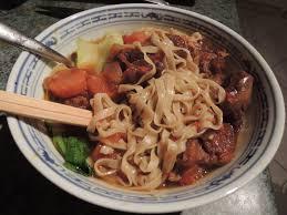 cuisine asiatique boeuf le canard du mékong soupe taiwanaise au boeuf