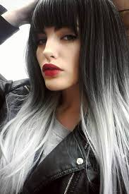 black grey hair the 25 best black grey ombre hair ideas on pinterest grey hair