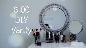 Homemade Makeup Vanity Ideas Table Exquisite Best 25 Diy Makeup Vanity Ideas On Pinterest Area