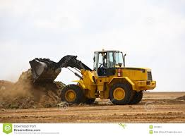 front end loader stock image image 1610091