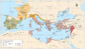 Roman Map Roman Empire During The Triumvirate