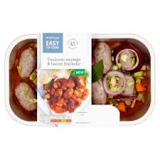 easy cuisine toulouse easy to cook toulouse sausage bacon traybake waitrose