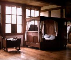 medieval house interior medieval bed not too lavish or too simple i love it all