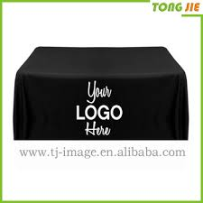 8 ft table cloth with logo 6ft 8ft trade show table runner throw fitted logo custom printed